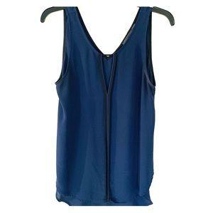 ASTR navy blouse